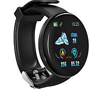 abordables -D18 Unisexe Bracelets Intelligents Bluetooth Imperméable Moniteur de Fréquence Cardiaque Mesure de la pression sanguine Suivi de distance Informations Podomètre Rappel d'Appel Moniteur d'Activit