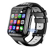 economico -W5 Per uomo Intelligente Guarda 4G Chiamate in vivavoce Video Telecamera Cronometro Avviso di chiamata Allarme sveglia Condivisione sociale Calendario