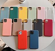 economico -telefono Custodia Per Apple Per retro iPhone 12 Pro Max 11 SE 2020 X XR XS Max 8 7 6 Resistente agli urti Tinta unica TPU