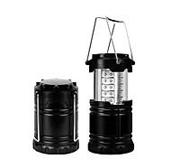 abordables -Lanternes & Lampes de tente LED 4 Émetteurs Ajustable Coupe-vent Transport Facile Durable Camping / Randonnée / Spéléologie Usage quotidien Pêche Noir