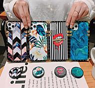 economico -telefono Custodia Per Samsung Galaxy Per retro S9 S9 Plus S8 Plus S8 Nota 9 Nota 8 S10 S10 + Galaxy Note 10 Note 10 + Resistente agli urti Con supporto Fantasia / disegno Con onde Floreale Effetto