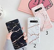 economico -telefono Custodia Per Samsung Galaxy Per retro S9 S9 Plus S8 Plus S8 Nota 9 Nota 8 S10 S10 + S10 Lite A50 Fantasia / disegno Effetto marmo TPU