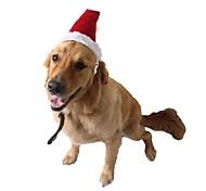 economico -Prodotti per cani Prodotti per gatti Ornamenti Accessori per la testa Vestiti del cucciolo Tinta unita Natale Cosplay Accessori per capelli Natale Feste Inverno Abbigliamento per cani Vestiti del