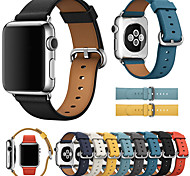 economico -Cinturino intelligente per Apple  iWatch 1 pcs Chiusura classica Banda di affari Similpelle Sostituzione Custodia con cinturino a strappo per Apple Watch Serie SE / 6/5/4/3/2/1 38 millimetri 40 mm 42