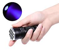 abordables -lampe de poche brelong 21led led violet lampe de poche uv noir sans batterie 1 pc