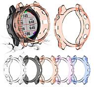 abordables -tpu cristal clair couvercle du boîtier de protection pour garmin fenix 6 s pro accessoires de protection de montre intelligente