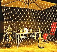 economico -3x2m luci stringa netta 320 led luce stringa tenda rete da pesca con 8 modalità di controllo per natale capodanno impermeabile matrimonio festa 110-240 v