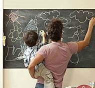 abordables -45 * 100 cm tableau noir amovible vinyle autocollant mural tableau noir autocollant peel bâton bureau fournitures scolaires