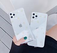 economico -telefono Custodia Per Apple Per retro iPhone 12 Pro Max 11 SE 2020 X XR XS Max 8 7 6 iPhone 11 Pro Max SE 2020 X XR XS Max 8 7 6 Transparente Fantasia / disegno Transparente TPU