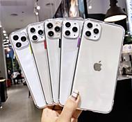 economico -Custodia Per Mela iPhone 11 / iPhone XR / iPhone 11 Pro Transparente Per retro Tinta unita TPU