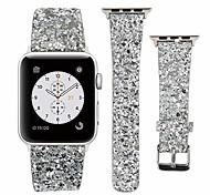 economico -Cinturino intelligente per Apple  iWatch 1 pcs Cinturino sportivo Cinturino di pelle Similpelle Sostituzione Custodia con cinturino a strappo per Apple Watch Serie 5 Apple Watch Serie SE / 6/5/4/3/2/1
