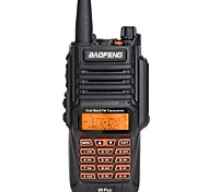 abordables -baofeng uv-9r plus 8 w haute puissance 2800 mah batterie uhf vhf double bande ip67 talkie-walkie étanche amélioré radio bf-uv9r