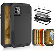 economico -Custodia Per Mela iPhone 11 / iPhone XR / iPhone 11 Pro Resistente agli urti Integrale Mattonella Metallo
