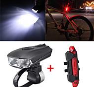 abordables -LED Eclairage de Velo Kit Eclairage Bicyclette Vélo Rechargeable Eclairage de Vélo Avant Eclairage de Vélo Arrière VTT Vélo tout terrain Vélo Cyclisme Imperméable Induction intelligente Ajustable
