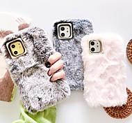 economico -telefono Custodia Per Apple Per retro iPhone 12 Pro Max 11 SE 2020 X XR XS Max 8 7 6 iPhone 11 Pro Max SE 2020 X XR XS Max 8 7 6 Fai da te Tinta unica Felpato Tessile
