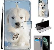 economico -telefono Custodia Per Apple Integrale Custodia in pelle Porta carte di credito iPhone 12 Pro Max 11 SE 2020 X XR XS Max 8 7 A portafoglio Porta-carte di credito Con supporto Con cagnolino pelle