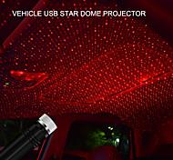 abordables -Usb led toit intérieur atmosphère étoile lumière deux couleurs pour voitures et décoration de la maison projecteur atmosphère réglable lampe de nuit ambiante