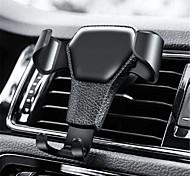abordables -support de téléphone de voiture de gravité pour téléphone dans le clip de ventilation de voiture air mount no support de téléphone portable magnétique support de support pour iphone gps