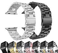 economico -Cinturino intelligente per Apple  iWatch 1 pcs Banda di affari Acciaio inossidabile Sostituzione Custodia con cinturino a strappo per Apple Watch Serie SE / 6/5/4/3/2/1 38 millimetri 40 mm 42