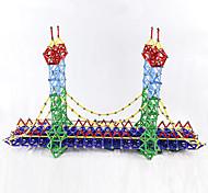 abordables -103 pcs Jouets Aimantés Bâtons Magnétiques Blocs de Construction Jouet Educatif Blocs magnétiques 3D Métallique Plastique Nouveautés Éducatif Jouet Vapeur Enfant / Adulte Garçon Fille Jouet Cadeau
