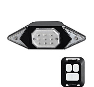 economico -LED Luci bici luci di sicurezza Luci di coda Bicicletta Ciclismo Portatile Regolabili Duraturo Leggero Batteria al litio 500 lm Alimentazione USB Doppia luce della sorgente luminosa Campeggio