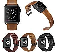 economico -Cinturino intelligente per Apple  iWatch 1 pcs Chiusura classica Banda di affari Similpelle Sostituzione Custodia con cinturino a strappo per Apple Watch Serie SE / 6/5/4/3/2/1 38 millimetri 42