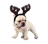 economico -Prodotti per cani Prodotti per gatti Ornamenti Accessori per la testa Bandane e cappelli Tinta unita Lustrini Accessori per capelli stile sveglio Abbigliamento per cani Vestiti del cucciolo Abiti per