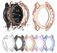 abordables -couvercle en cristal tpu clair protecteur pour garmin fenix 6 accessoires de protection de montre intelligente