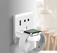 economico -Caricatore senza fili Caricabatteria USB USB QC 3.0 1 porta USB 5 A DC 5V per Apple Watch Series 4 / Apple Watch Series 4/3/2/1 / Apple Watch Series 3 Apple