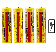 voordelige -batterij emitters Oplaadbaar Noodgeval Werkend Zaklantaarn Fietslicht Kamperen&Wandelen Jagen Vissen 4pcs