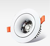 abordables -led intégrale lentille cob plafond lumière de lumière 12 w centre d'ameublement hôtel villa dédiée projecteur lumière de cylindre