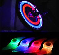 abordables -LED Eclairage de Velo Lampe Eclairage Décoration de vélo Eclairage sécurité / feu clignotant velo Vélo Cyclisme Imperméable Modes multiples LED latar C-Cell 1 lm Rouge Bleu Vert Cyclisme