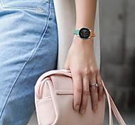 economico -vera pelle Cinturino per orologio  Bianco / Blu / Arancione 20cm / 7.9 Pollici 2.2cm / 0.9 Pollici