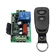 economico -rf wireless ac220v 1ch interruttore relè no nc com / ricevitore codice apprendimento per luce / accensione led off / 433mhz