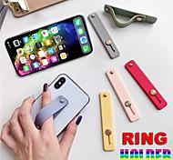 economico -Supporto per cellulare Da scrivania All'aperto Cellulare Supporto regolabile Supporto ad anello Tipo stickup Regolabili Silicone Appendini per cellulare iPhone 12 11 Pro Xs Xs Max Xr X 8 Samsung