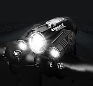 abordables -LED Eclairage de Velo Eclairage de Vélo Avant VTT Vélo tout terrain Vélo Cyclisme Imperméable Rotation 360° Modes multiples Super brillant 18650 300 lm 18650 Blanc Cyclisme / IPX 6 / Grand angle