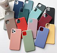 economico -telefono Custodia Per Apple iPhone SE (2020) / iPhone 11 / iPhone 11 Pro / iPhone 11 Pro Max / iPhone XS Max / iPhone XR / iPhone X / iPhone XS / iPhone 8 / iPhone 8 Plus Ultra sottile Per retro