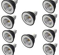 economico -10 pezzi 7 W Faretti LED 500 lm GU10 GU10 1 Perline LED COB Oscurabile Bianco caldo Bianco 220-240 V