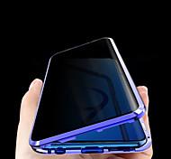 economico -telefono Custodia Per Samsung Galaxy Integrale Custodia ad adsorbimento magnetico S20 Plus S20 Ultra S20 Galaxy Note 10 Galaxy Note 10+ Note 10 + Con chiusura magnetica A calamita Anti peep