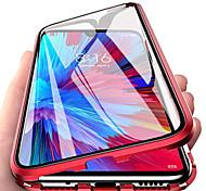 economico -telefono Custodia Per Xiaomi Integrale Xiaomi CC9 Pro Con chiusura magnetica Doppia setola Tinta unita Vetro temperato Metallo