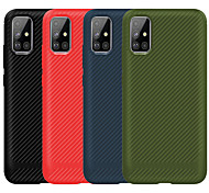 economico -telefono Custodia Per Samsung Galaxy Per retro Integrale S10 S10 Lite A10 A50 A20 A40 A70 Galaxy A20e Note 10 Note 10 + Effetto ghiaccio Tinta unica TPU