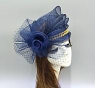 economico -Piume / A rete fascinators / cappelli / Cappelli con Fiocchi / Cappellini / Fantasia floreale 1 pezzo Matrimonio / Occasioni speciali Copricapo