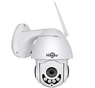 economico -Hiseeu Hiseeu 1080P PTZ IP Camera Outdoor Waterproof Mini Speed Dome Camera 2MP color night vision IP CCTV Security Camera P2P 12 mp Videocamera IP Al Coperto Supporto 64 GB / Indirizzo IP dinamico