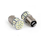 abordables -1157 3528 50smd led frein de voiture stop feu arrière ampoule lampe blanc nouveau 50 led 50smd 50led 2 pcs