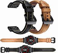 economico -Cinturino intelligente per Garmin 1 pcs Chiusura classica Banda di affari Similpelle Sostituzione Custodia con cinturino a strappo per Approccio S60 Fenix 5 Fenix 5 Plus Garmin Quatix 5 Garmin