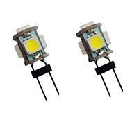 abordables -2pcs 1 W LED à Double Broches 100 lm G4 5 Perles LED SMD 5050 12 V
