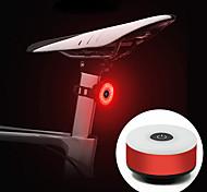 abordables -LED Eclairage de Velo Eclairage de Vélo Arrière Vélo Cyclisme Portable Durable Poids Léger Batterie Li-ion rechargeable 10 lm Batterie rechargeable Rouge Cyclisme