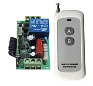 economico -kit trasmettitore ricevitore AC 220v 10a 1ch rf 433mhz telecomando di alta qualità
