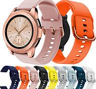 economico -Cinturino intelligente per TicWatch Samsung Amazfit 1 pcs Cinturino sportivo Silicone Sostituzione Custodia con cinturino a strappo per Huawei Watch 2 Watch 2 Pro Orologio Huami Amazfit Bip Younth