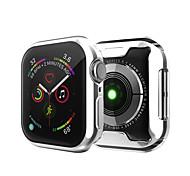 economico -Custodie Per Apple  iWatch Apple Watch Serie 5 / Apple Watch Series 4 / Apple Watch Serie SE / 6/5/4/3/2/1 TPU Proteggi Schermo Custodia per Smartwatch  Compatibilità 38 millimetri 40 mm 42